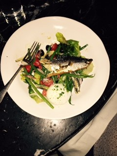Mackeral salad